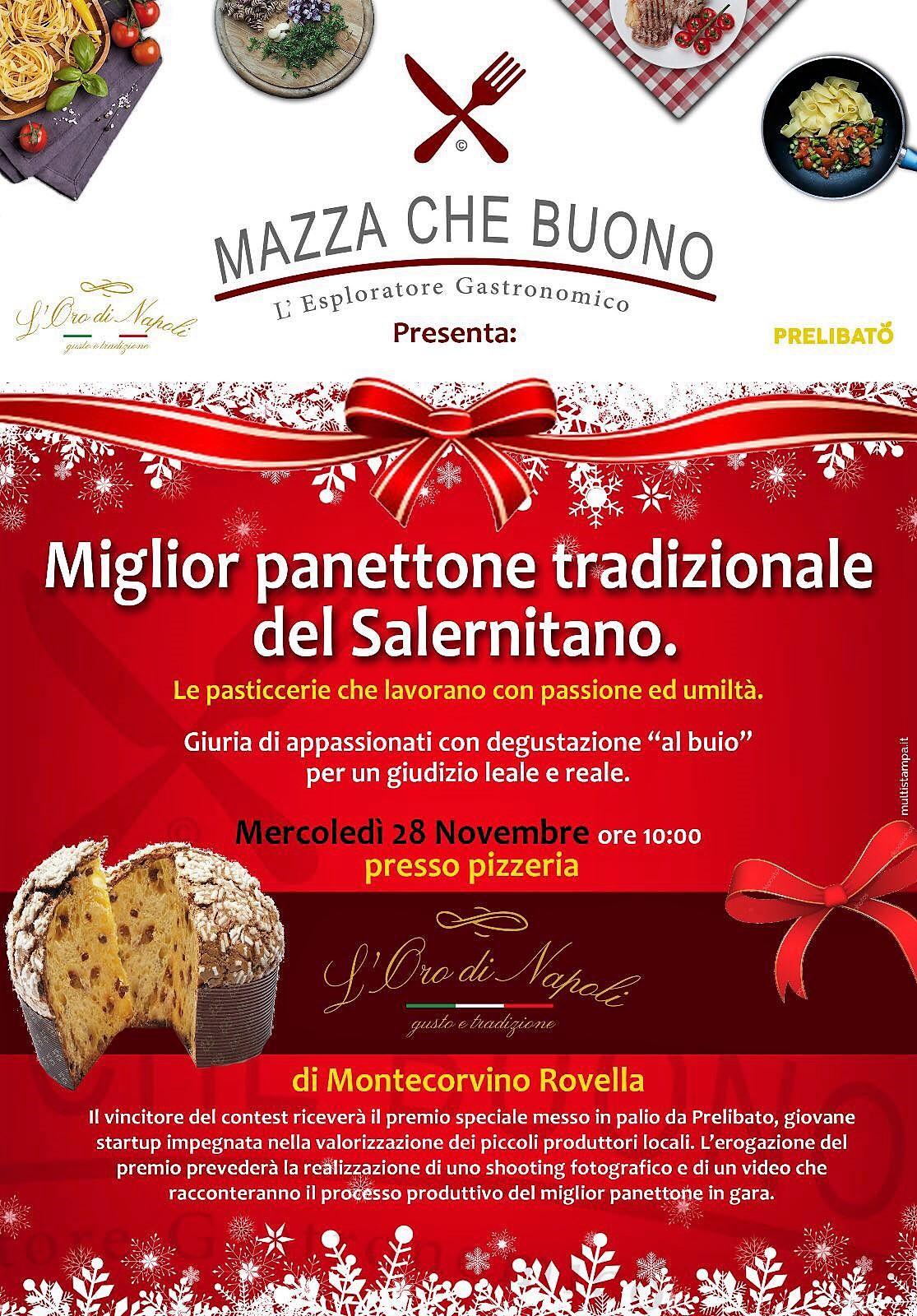 #MazzachePanettone: IL PANETTONE PIÙ VOTATO DELLA PROVINCIA DI SALERNO