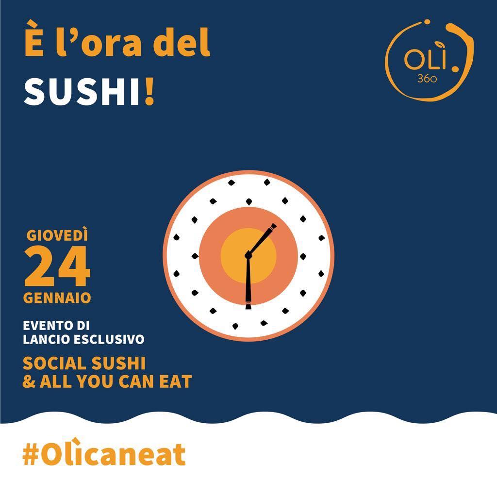 Il Sushi Sbarca Da Oli360 A Battipaglia