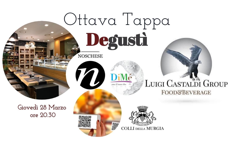 DEGUSTI'-Ottava Tappa Al Bakery Noschese A Pontecagnano (SA)