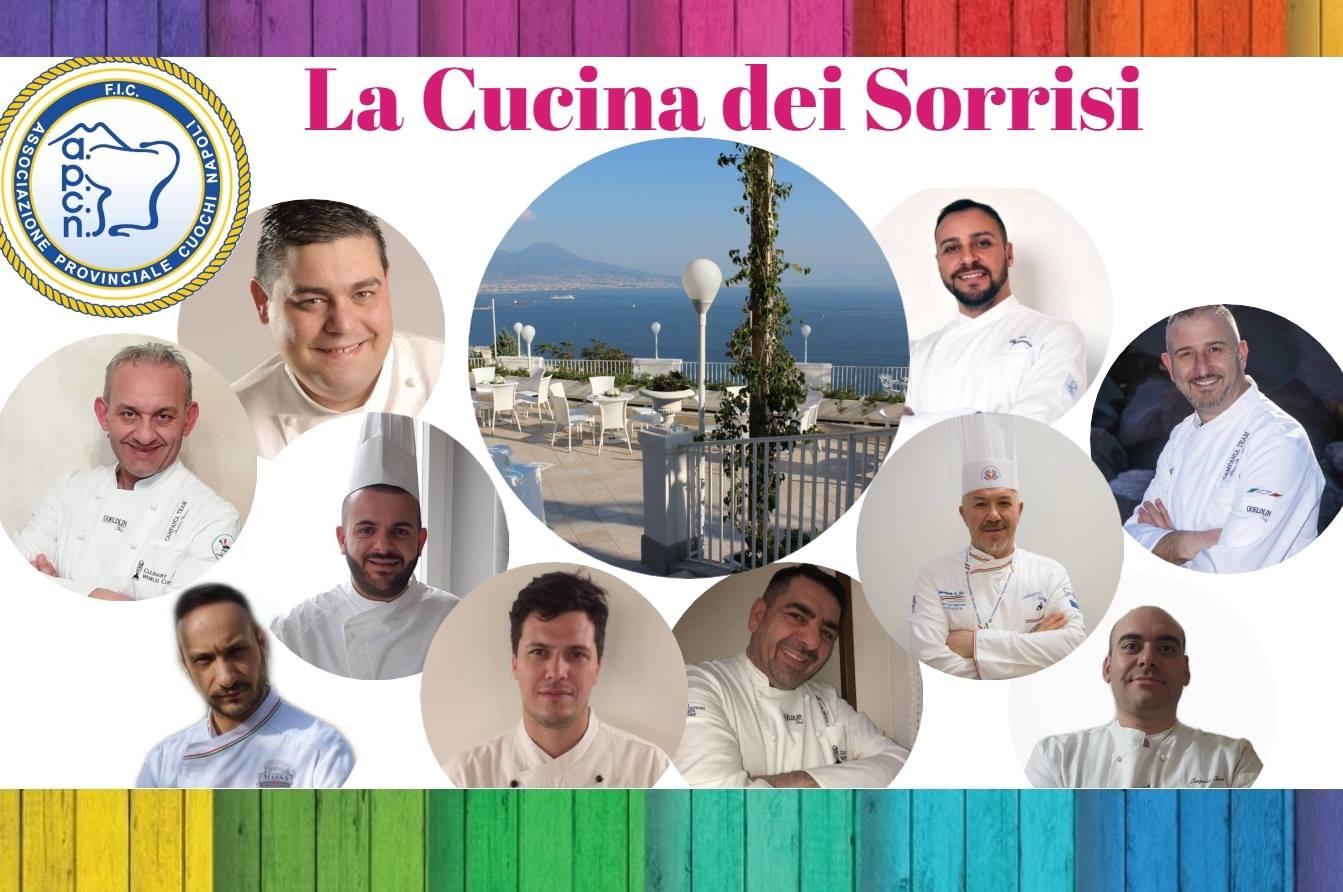 """""""La Cucina Dei Sorrisi"""" – Mercoledì 8 Maggio 2019 – """"Villa Scipione"""" (Napoli)"""