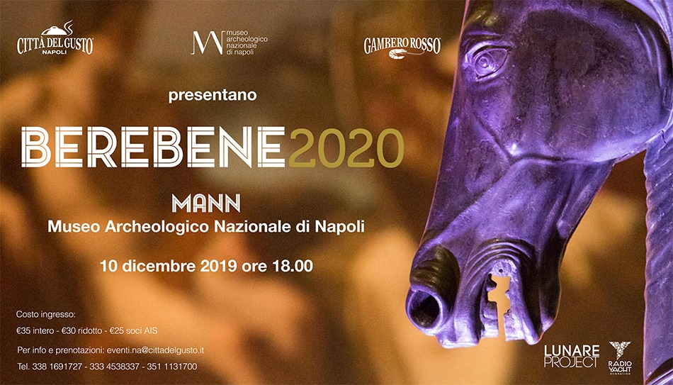Berebene 2020 – Gambero Rosso – Napoli 10 Dicembre 2019